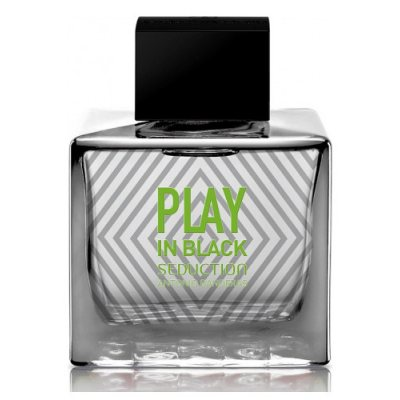 Antonio Banderas Play In Black Seduction edt 80ml