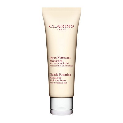 Clarins Gentle Foaming Cleanser Dry/Sensitive Skin 125ml