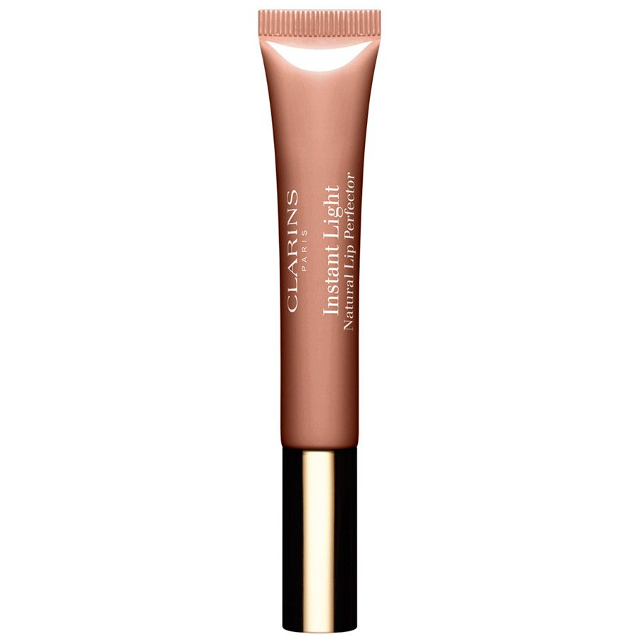 Clarins Instant Light Natural Lip Perfector Tube #06 Rosewood Shimmer 12ml