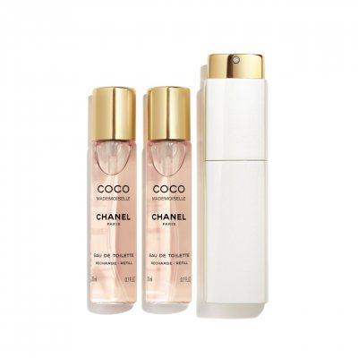 Chanel Coco Mademoiselle edt Twist And Spray Refills 3x20ml