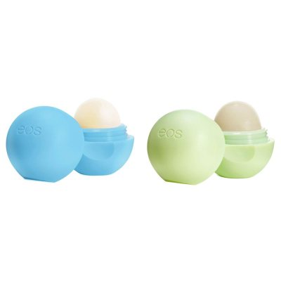 eos 2-pack Lip Balm Bluberry Acai & Honeysuckle Honeydew 7g