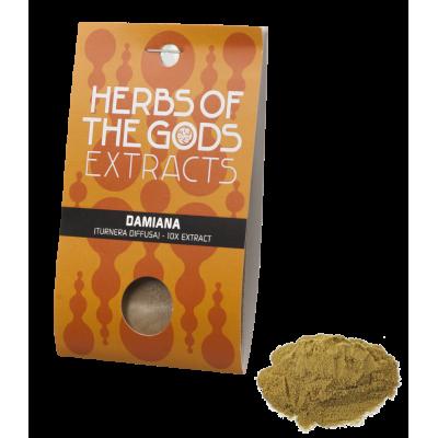 Herbs of the Gods Damiana (Turnera Diffusa) 10x Extract