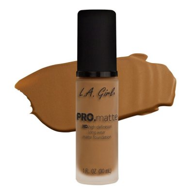 L.A. Girl Pro Matte Foundation Caramel 30ml
