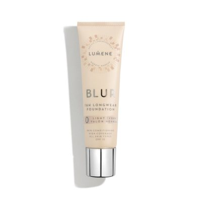 Lumene Longwear Blur Foundation 0 Light Ivory SPF15 30ml