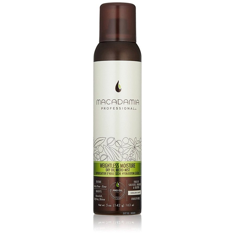 Macadamia Weightless Moisture Dry Oil Micro Mist 163ml