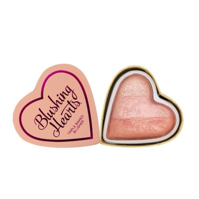 I Heart Revolution Blushing Hearts Peachy Pink Kisses