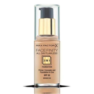Max Factor Facefinity All Day Flawless 3 In 1 Foundation 80 Bronze 30ml