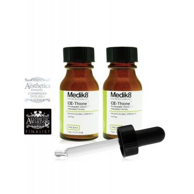 Medik8 CE-Thione Rechargeable Vitamin C Serum 2x15ml