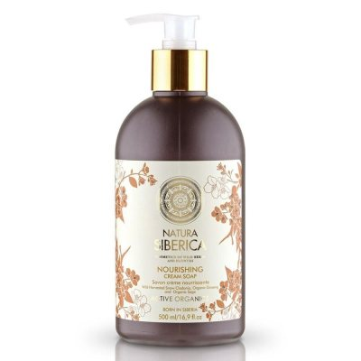 Natura Siberica Nourishing Cream Soap 500ml
