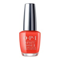 OPI Infinite Shine A Red-Vival City