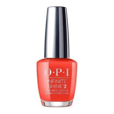 OPI Infinite Shine A Red-Vival City