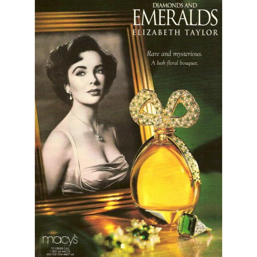 Elizabeth Taylor Diamonds And Emeralds Edt 100ml | Diamond