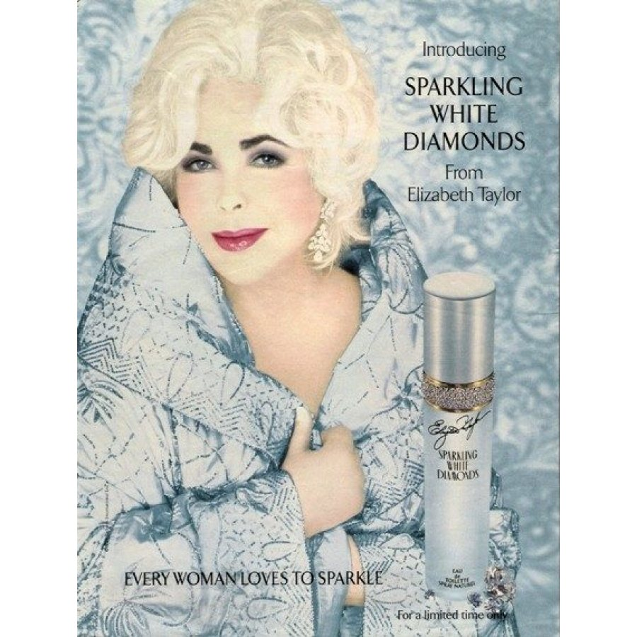 Elizabeth Taylor Sparkling White Diamonds edt 50ml 112,23