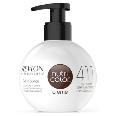 Revlon Nutri Color Creme 411 Ash Brown Demo (Leakage)