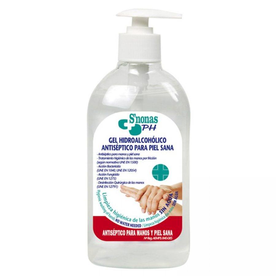 S'nonas Handdesinfektion Handsprit Gel 500ml