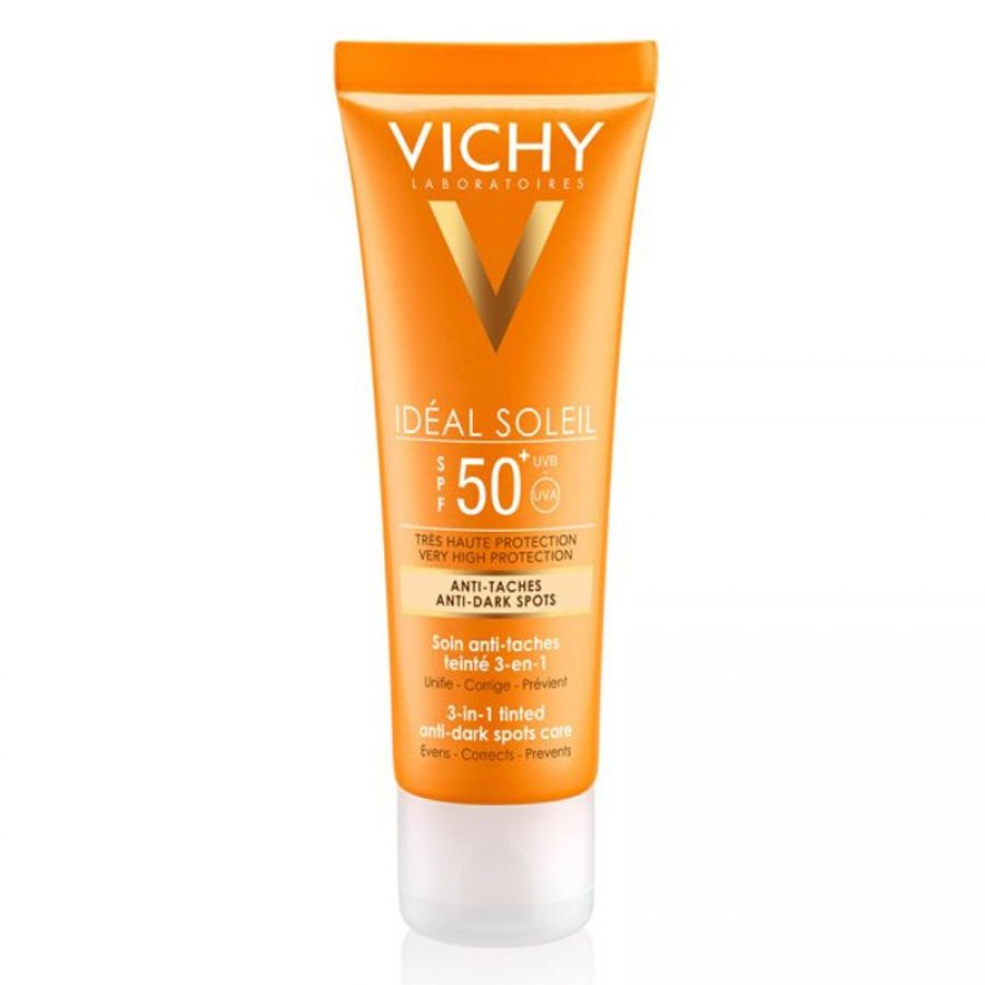 Vichy Capital/Ideal Soleil Anti Ageing 3-In-1 Antioxidant Care Cream SPF50 50ml